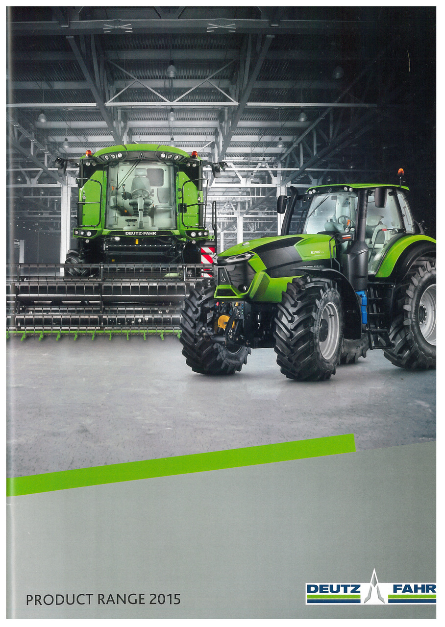 DEUTZ-FAHR Product Range 2015