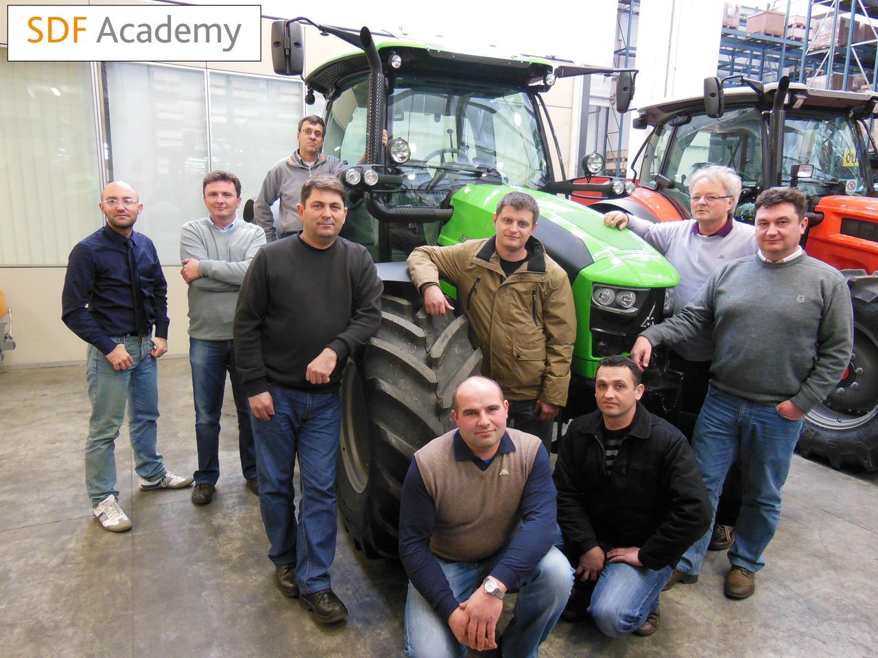 SDF Academy - Corso con tecnici dell'Est Europa