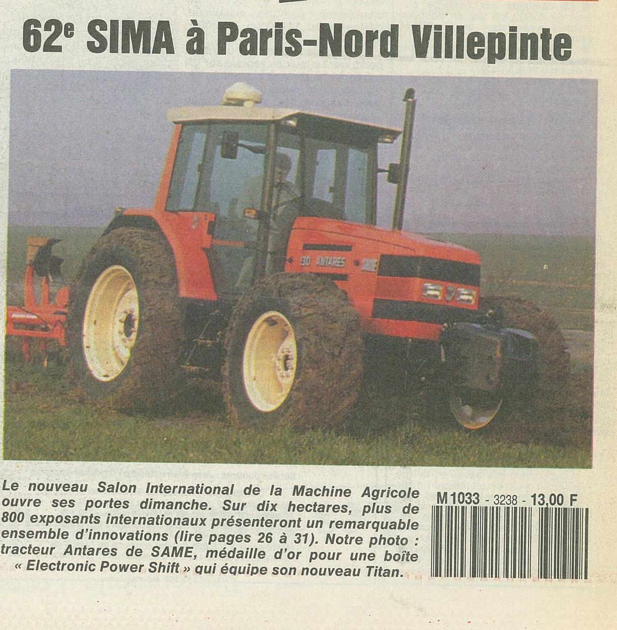 62 sima à Paris-Nord Villepinte