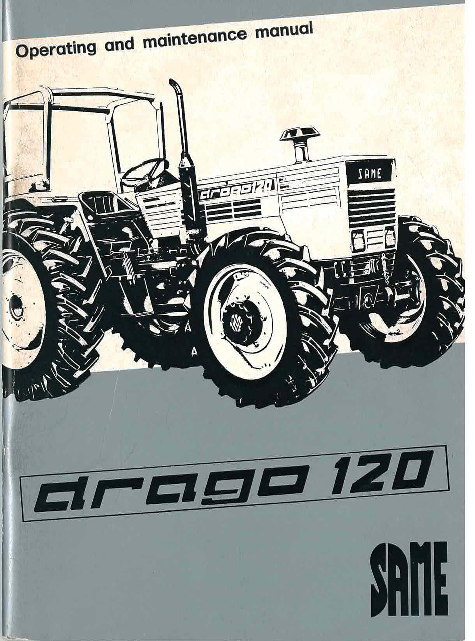 DRAGO 120 - Operating and maintenance