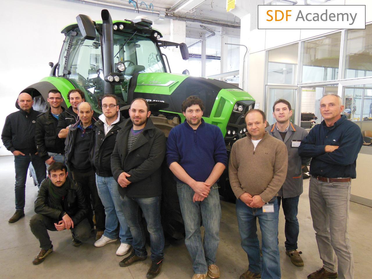SDF Academy - Corso Deutz-Fahr Serie 7 Agrotron TTV