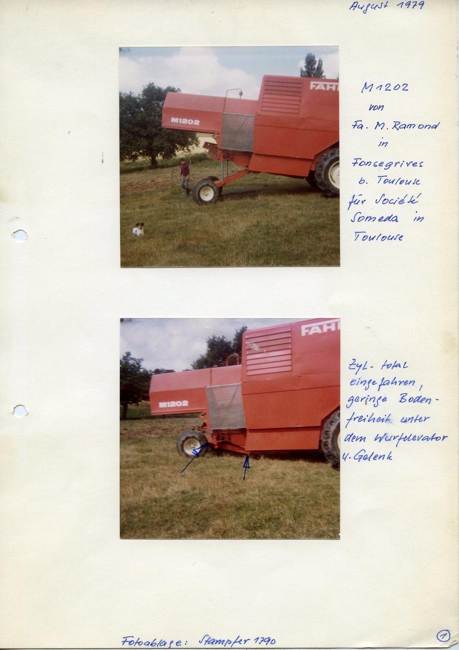 """[Fahr] M 1202, M 1302, """"Fonsegrives, August 1979"""""""