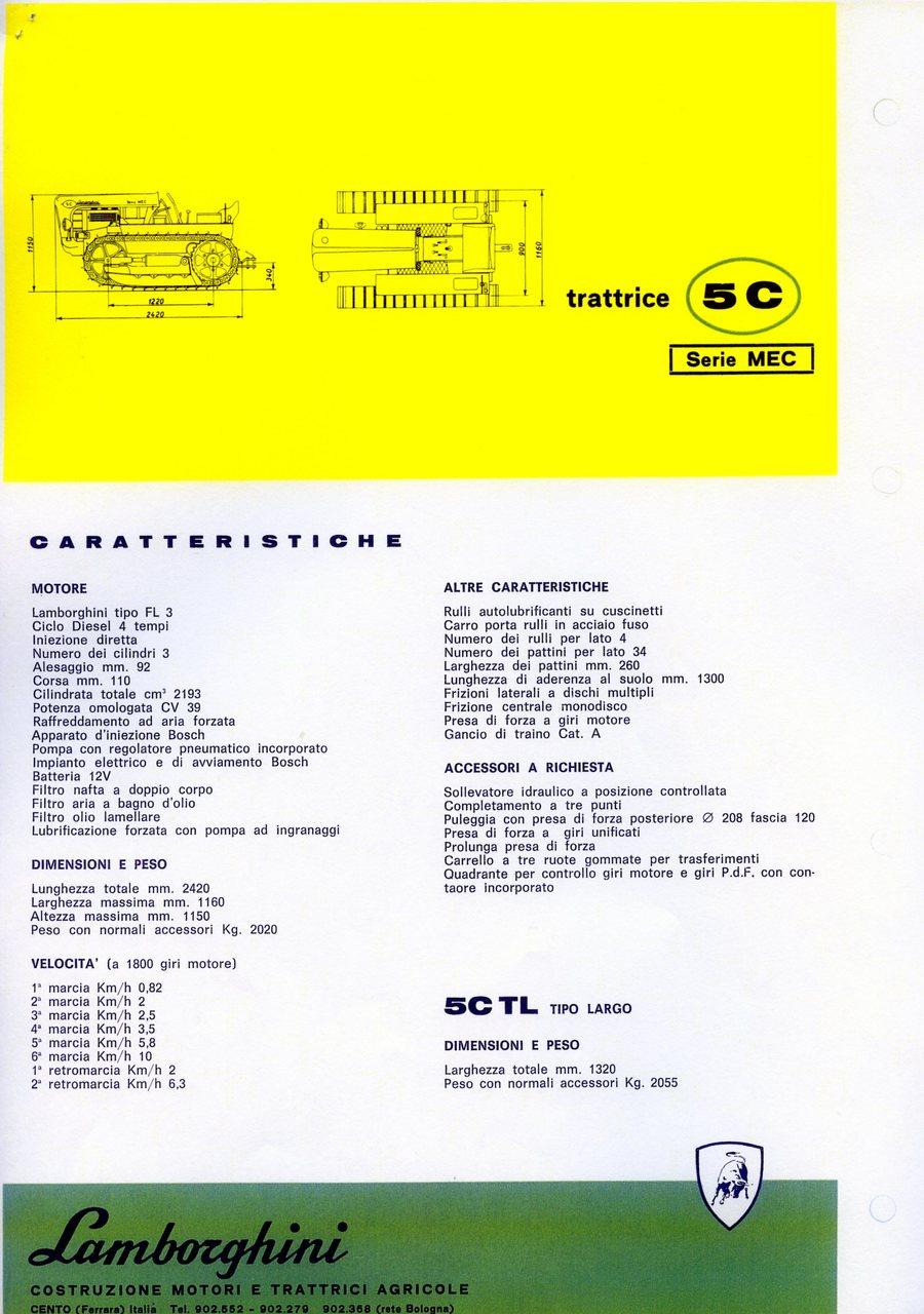Lamborghini 5 C serie MEC