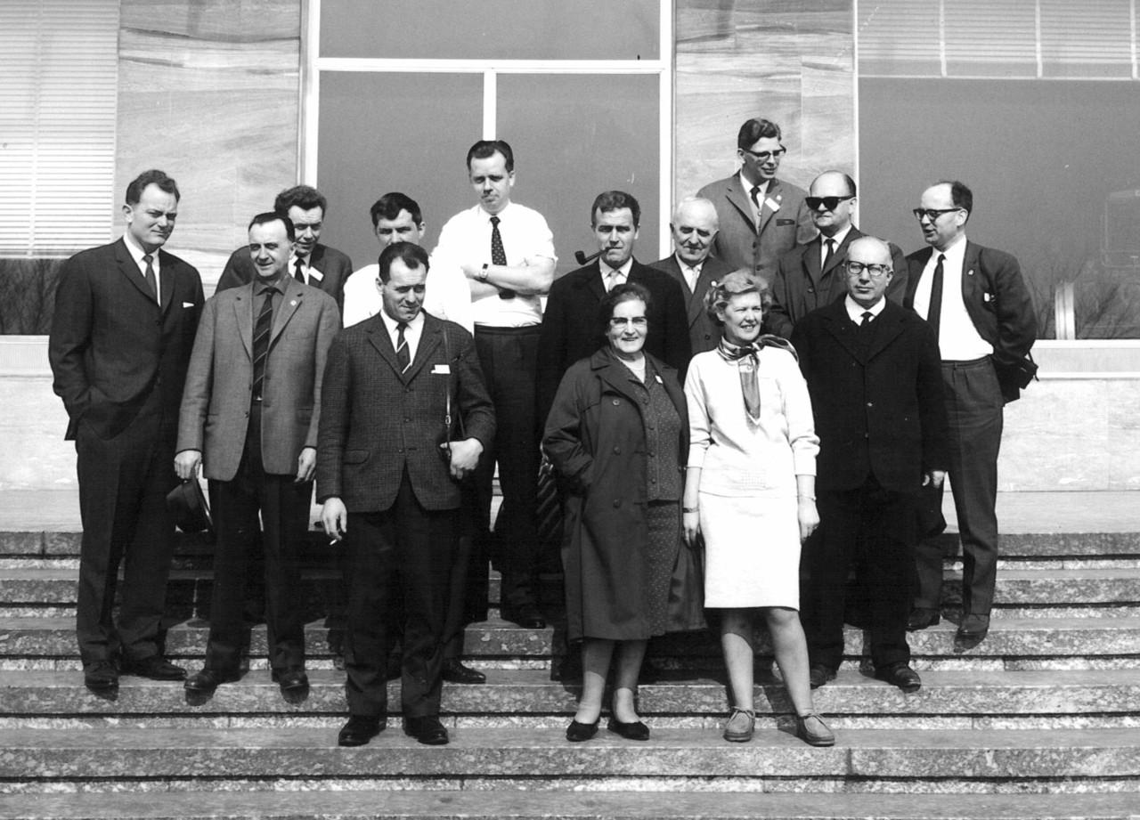 Visita di una delegazione danese presso lo stabilimento SAME