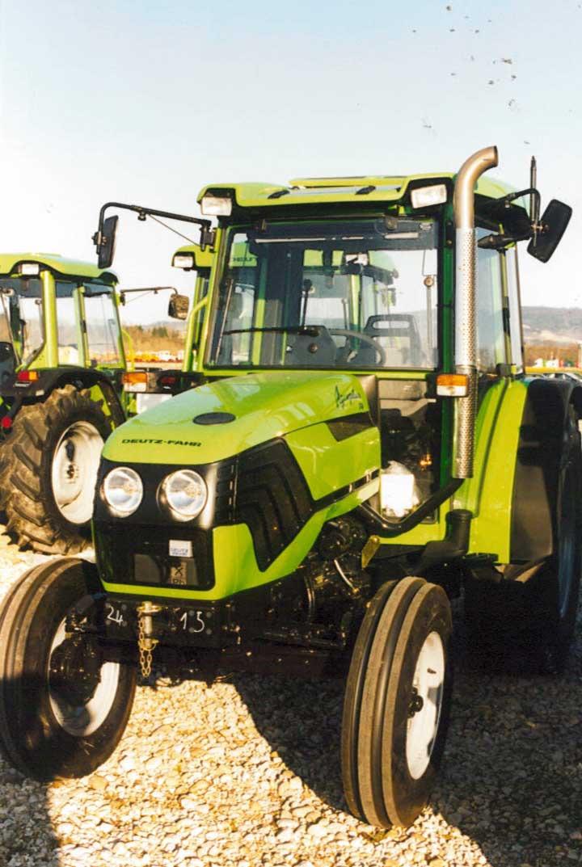 [Deutz-Fahr] trattore Agroplus 70 con le 2 ruote motrici