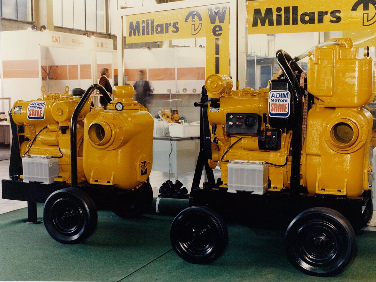 Motori ADIM per pompe centrifughe autoadescanti