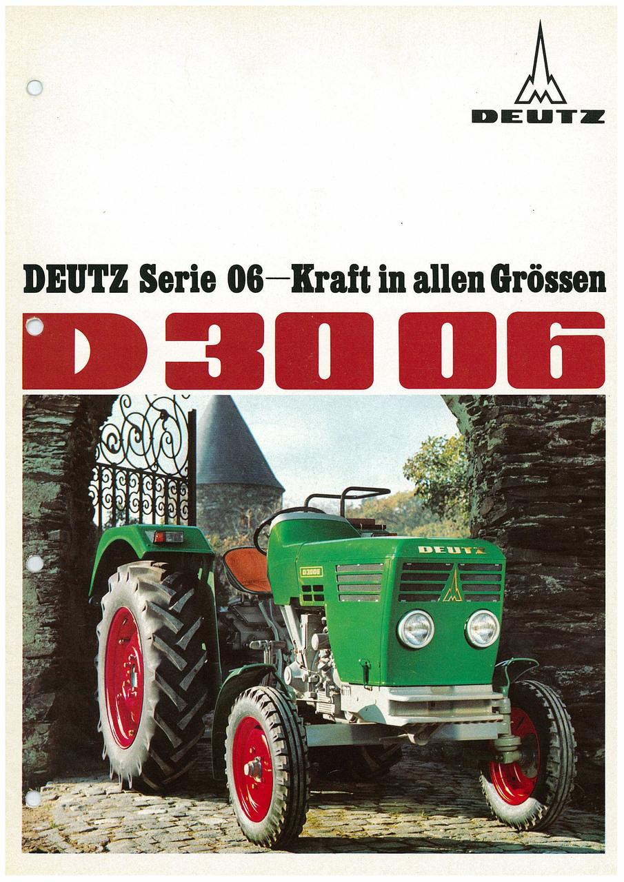 DEUTZ D3006 - KRAFT IN ALLEN GRÖSSEN