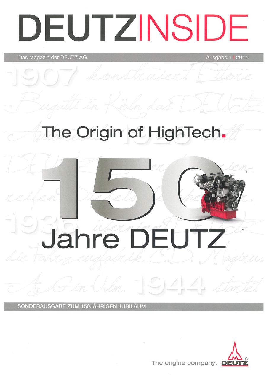 DeutzInside - Das magazin der DEUTZ AG