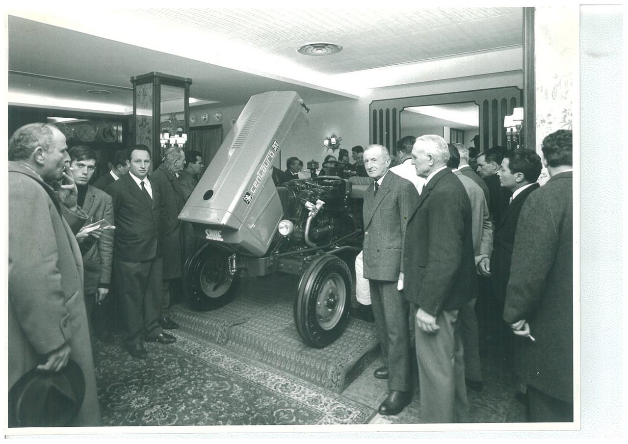 Lancio del trattore SAME Centauro a Parma