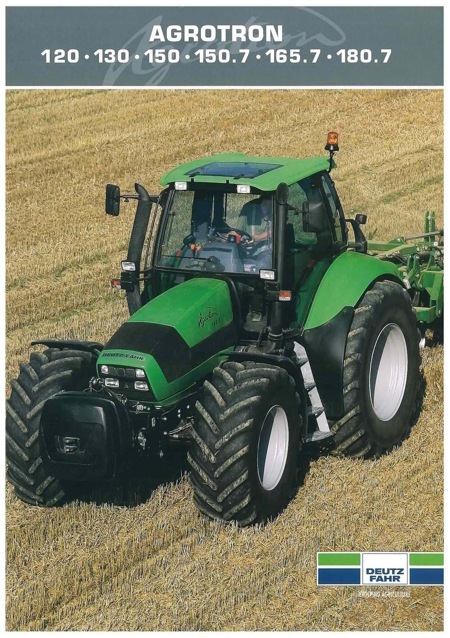 AGROTRON 120 - 130 - 150 - 150.7 - 165.7 - 180.7