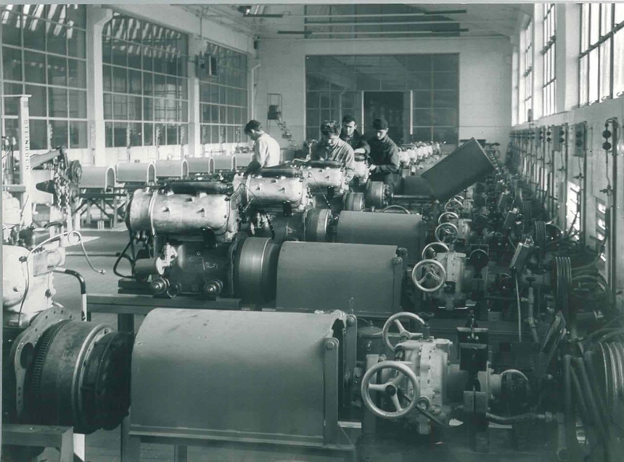 Stabilimento Same - Sala Prove motori