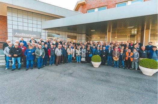 Visita Gruppo Lavoratori Anziani SAME (GLAS) allo stabilimento di Treviglio