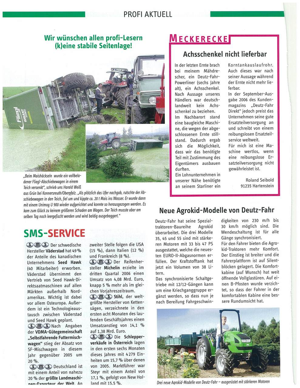 Neue Agrokid-Modelle von Deutz-Fahr