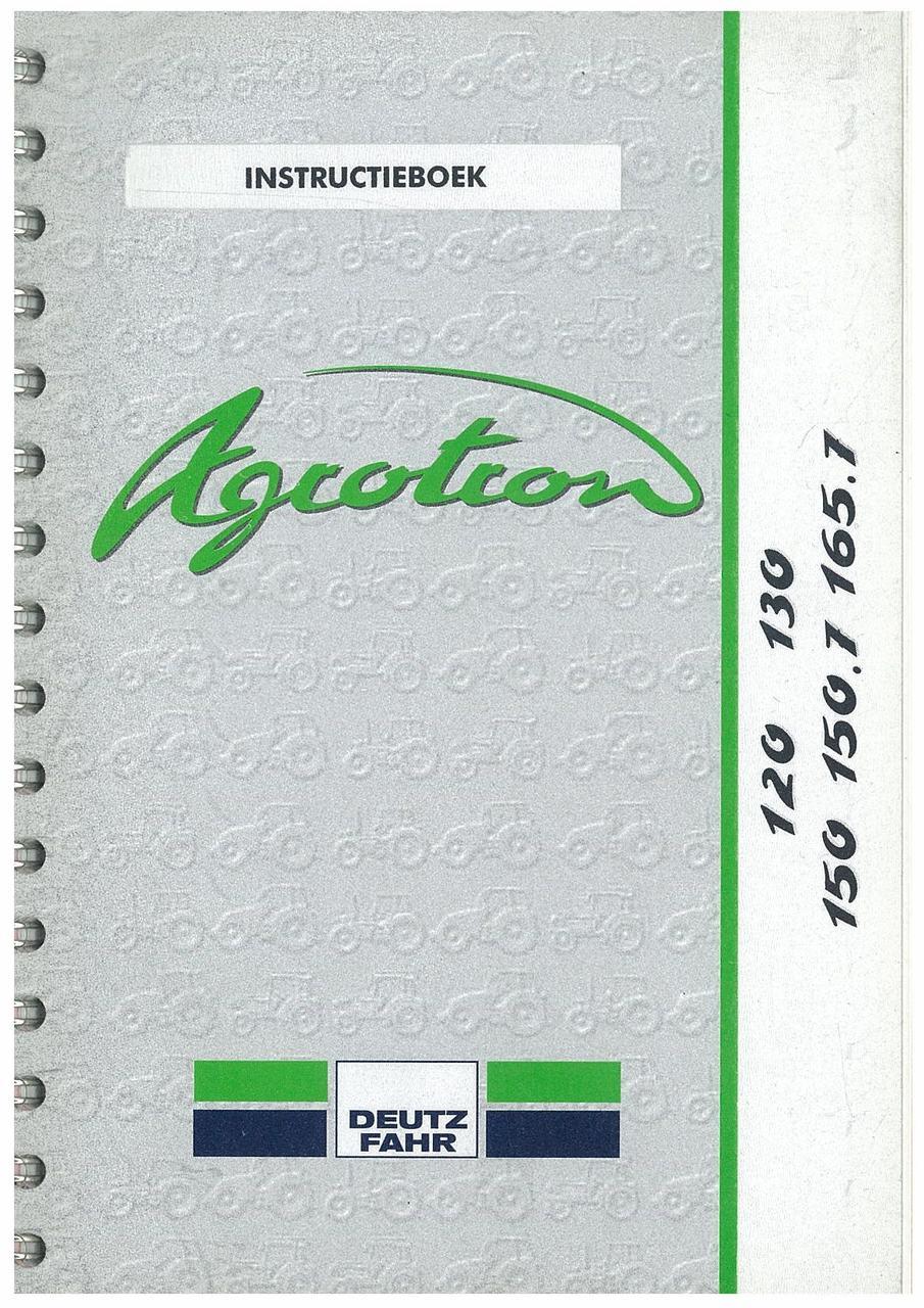 AGROTRON 120-130-150-150.7-165.7 - Instructieboek