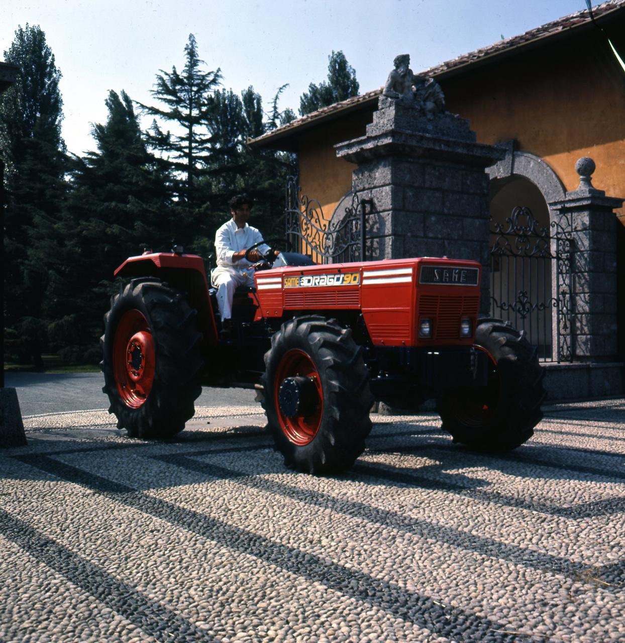 [SAME] trattore Drago 90, prototipo