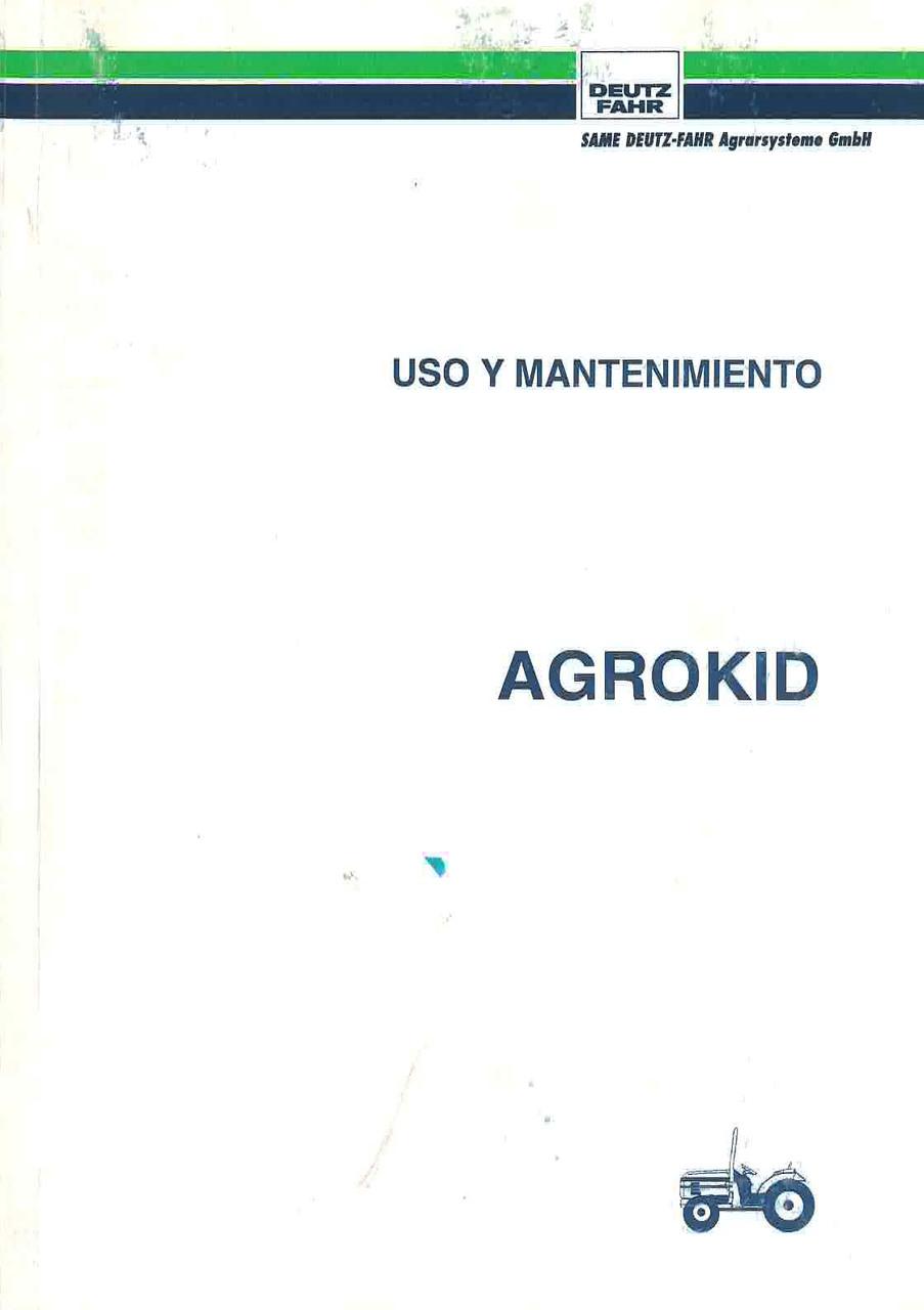 AGROKID - Uso y Mantenimiento