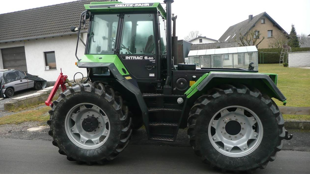 [Deutz-Fahr] trattore Intrac 6.60 Turbo
