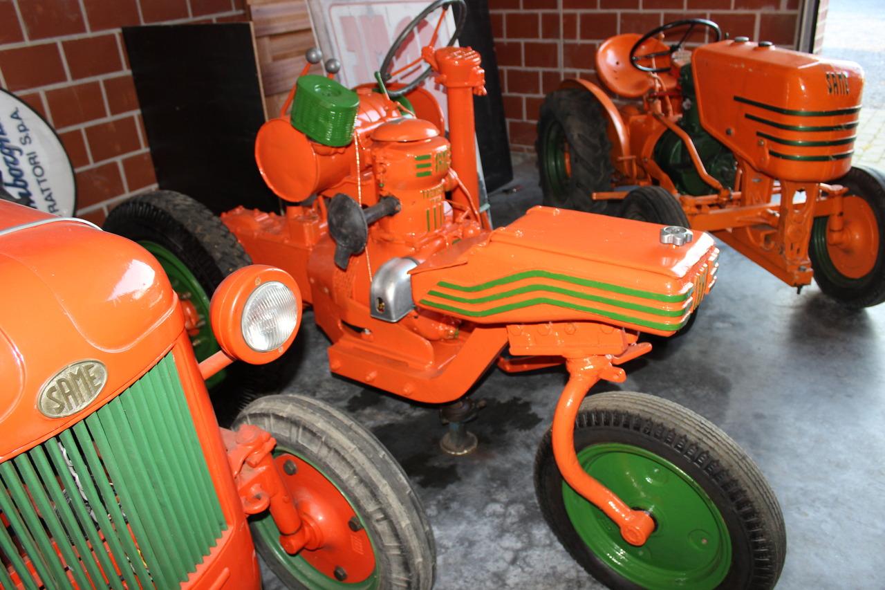 Trattore SAME Universale 10 a 3 ruote in Belgio