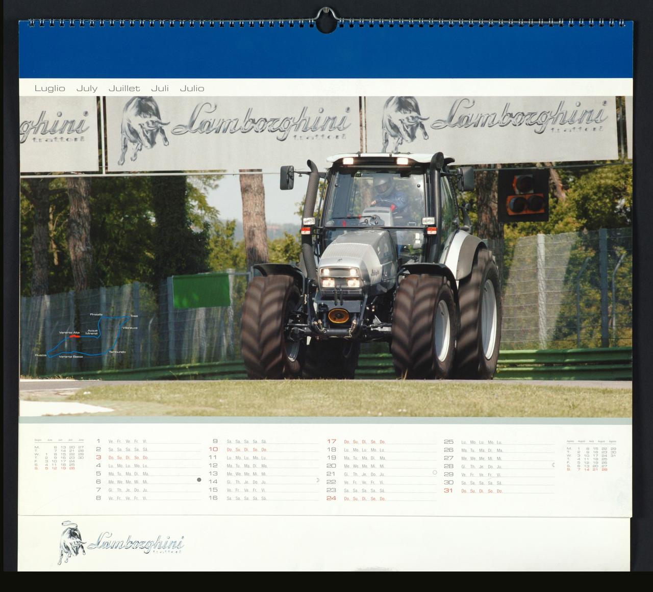 Calendario 2005