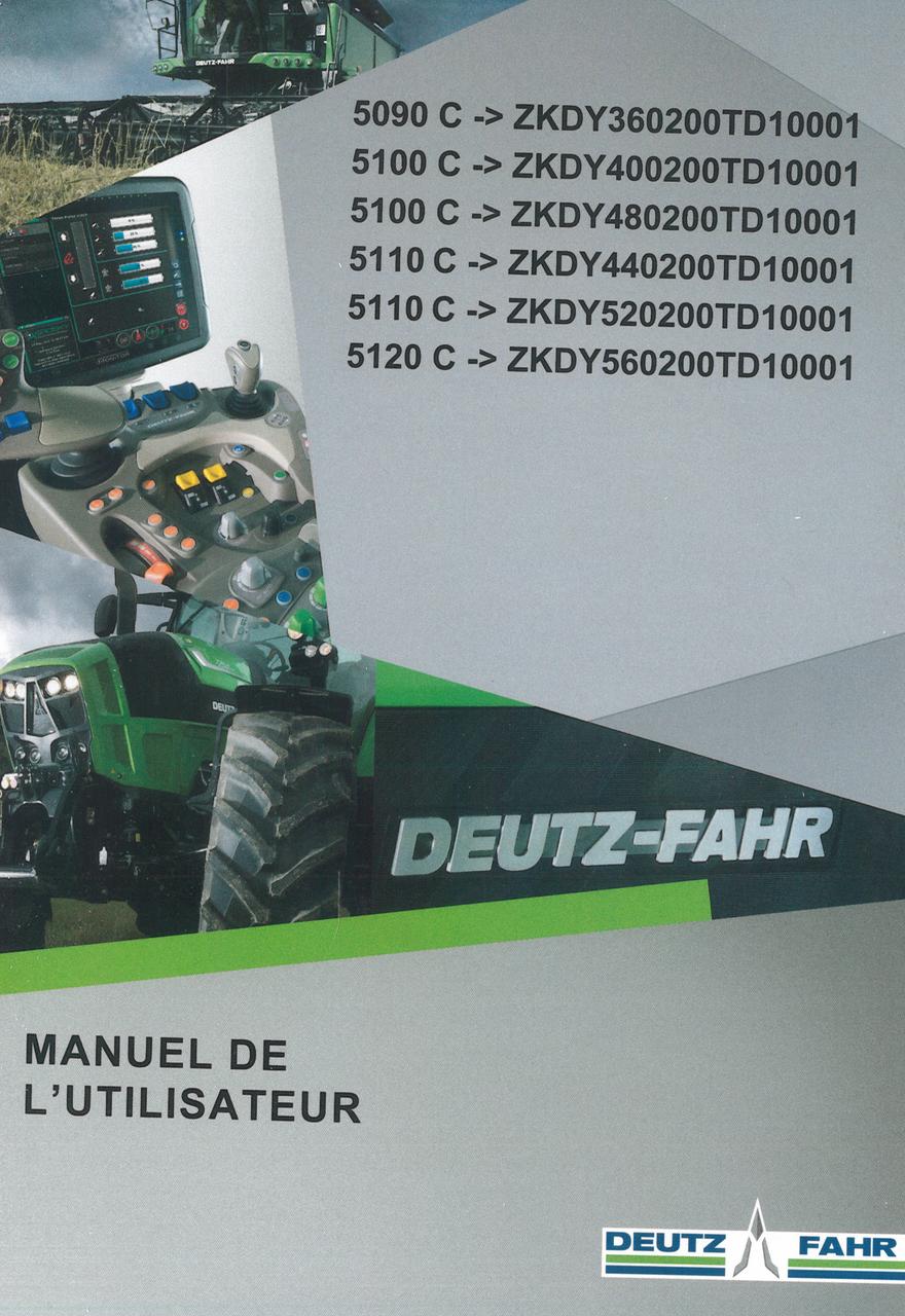 5090 C ->ZKDY360200TD10001 - 5100 C ->ZKDY400200TD10001 - 5100 C ->ZKDY480200TD10001 - 5110 C ->ZKDY440200TD10001 - 5110 C ->ZKDY520200TD10001 - 5120 C ->ZKDY560200TD10001 - Manuel de l'utilisateur
