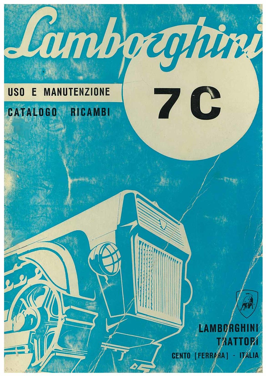 7 C - Catalogo Parti di Ricambio / Libretto Uso & Manutenzione