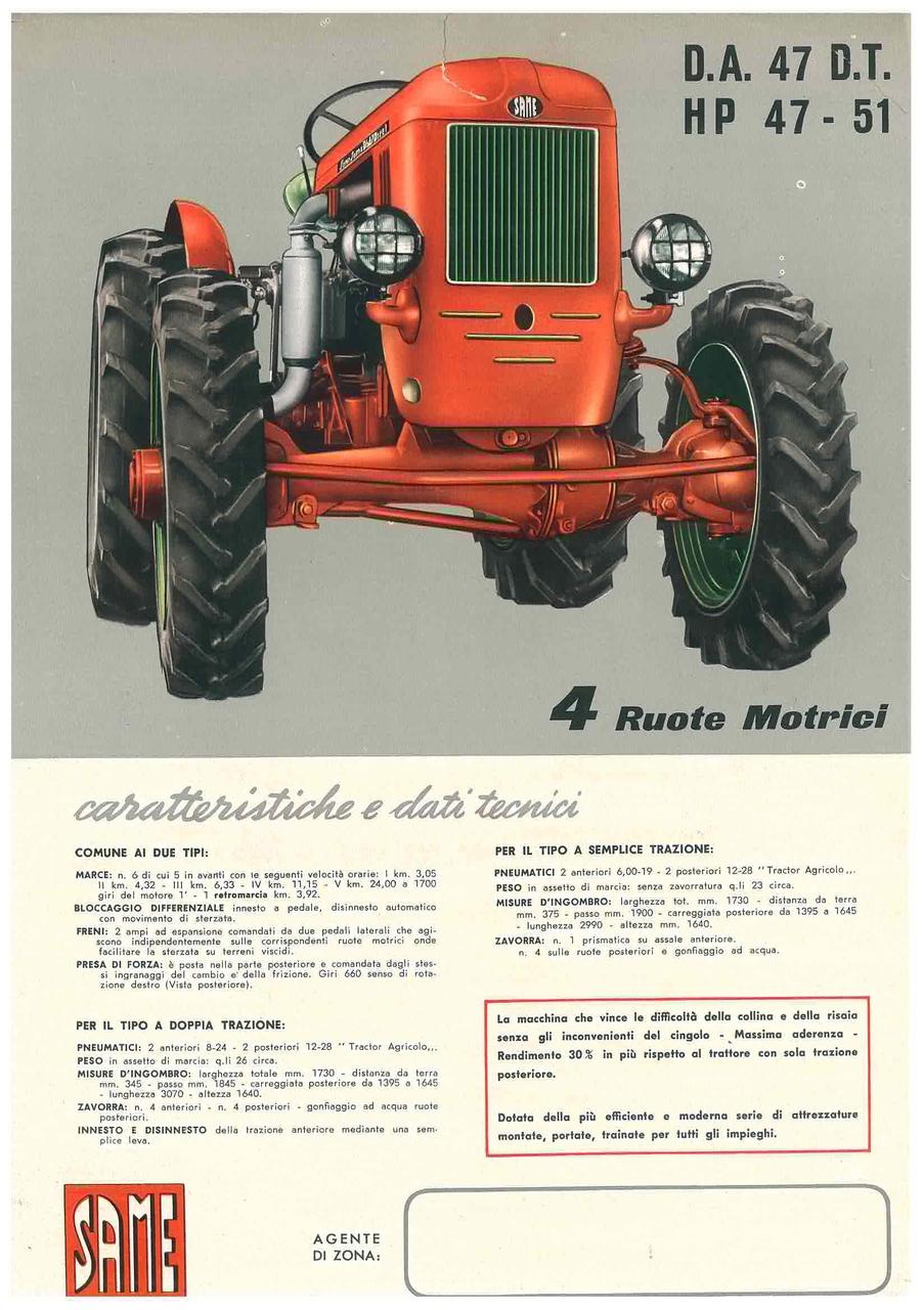 Super Cassani DA 47 HP 47 - 51