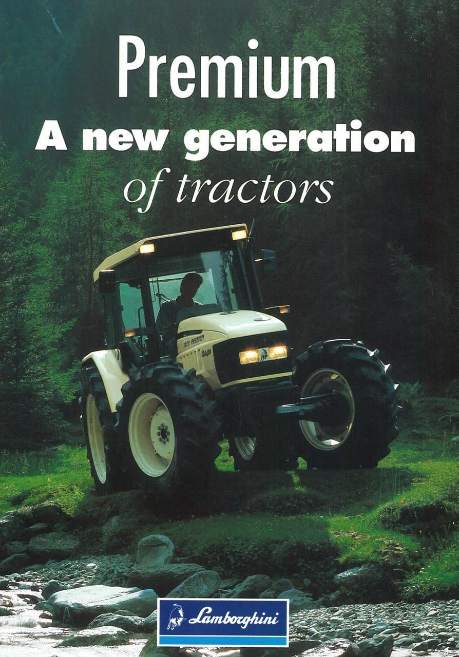 PREMIUM - A new generation of tractors