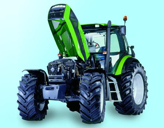 [Deutz-Fahr] trattori Agrotron TTV 1160 al lavoro in campo con ripuntatore e in studio fotografico