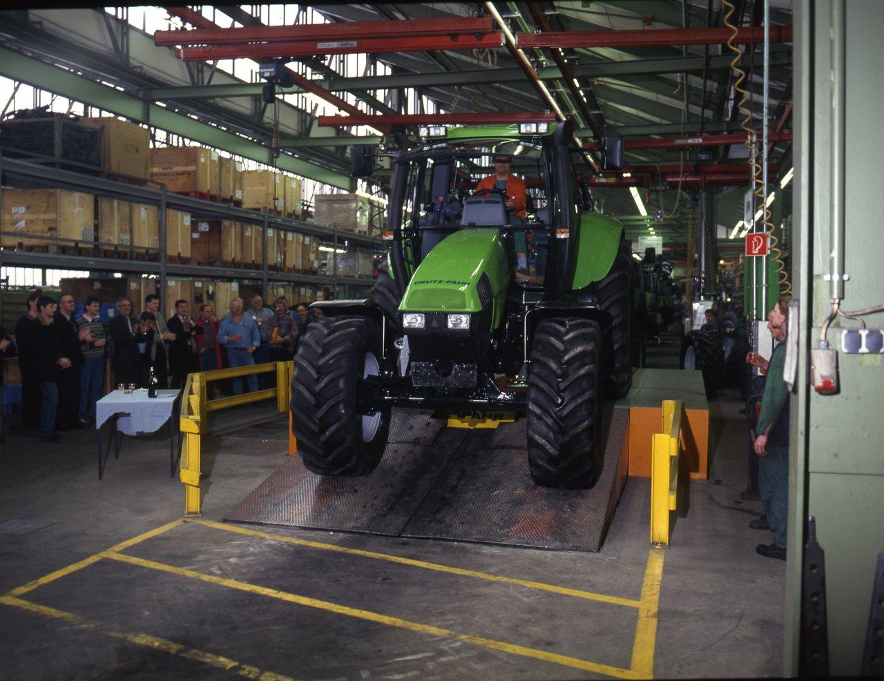 Linea assemblaggio trattori di Lauingen