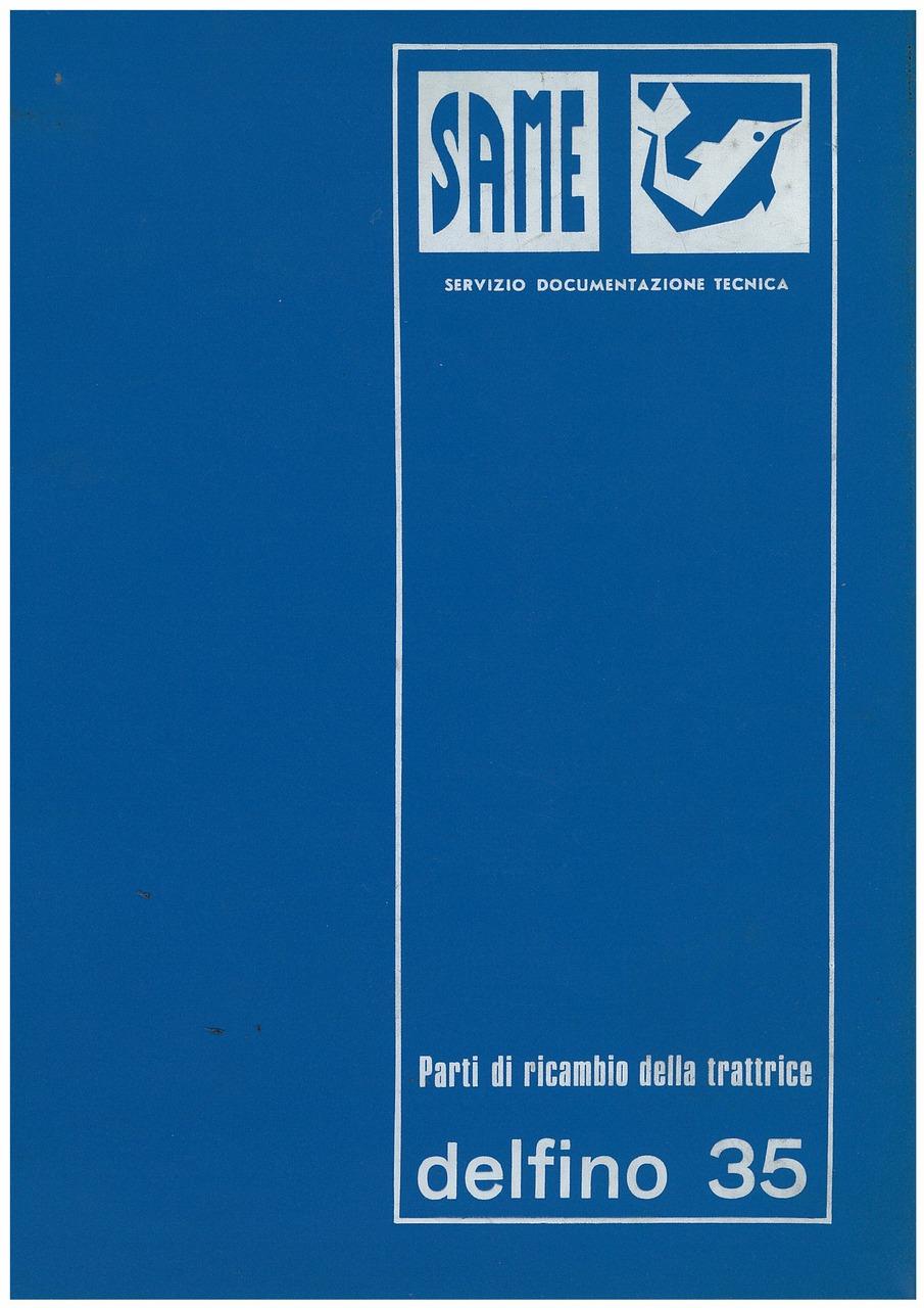 DELFINO 35 - Catalogo ricambi originali / Catalogue pièces d'origine / Original parts catalogue / Original Ersatzteilkatalog / Catálogo repuestos originales