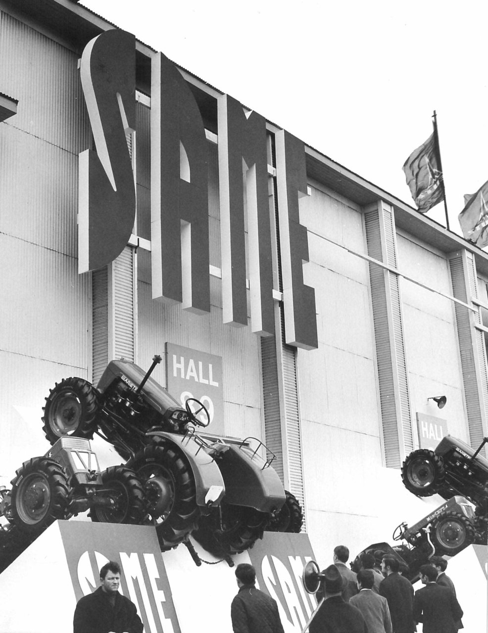 Stand SAME al Salon de la Machine Agricole de Paris