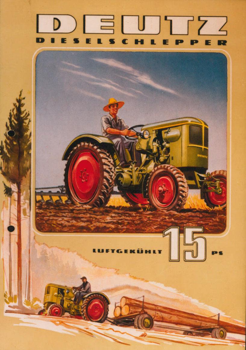 [Deutz] catalogo pubblicitario relativo al trattore F1L 514