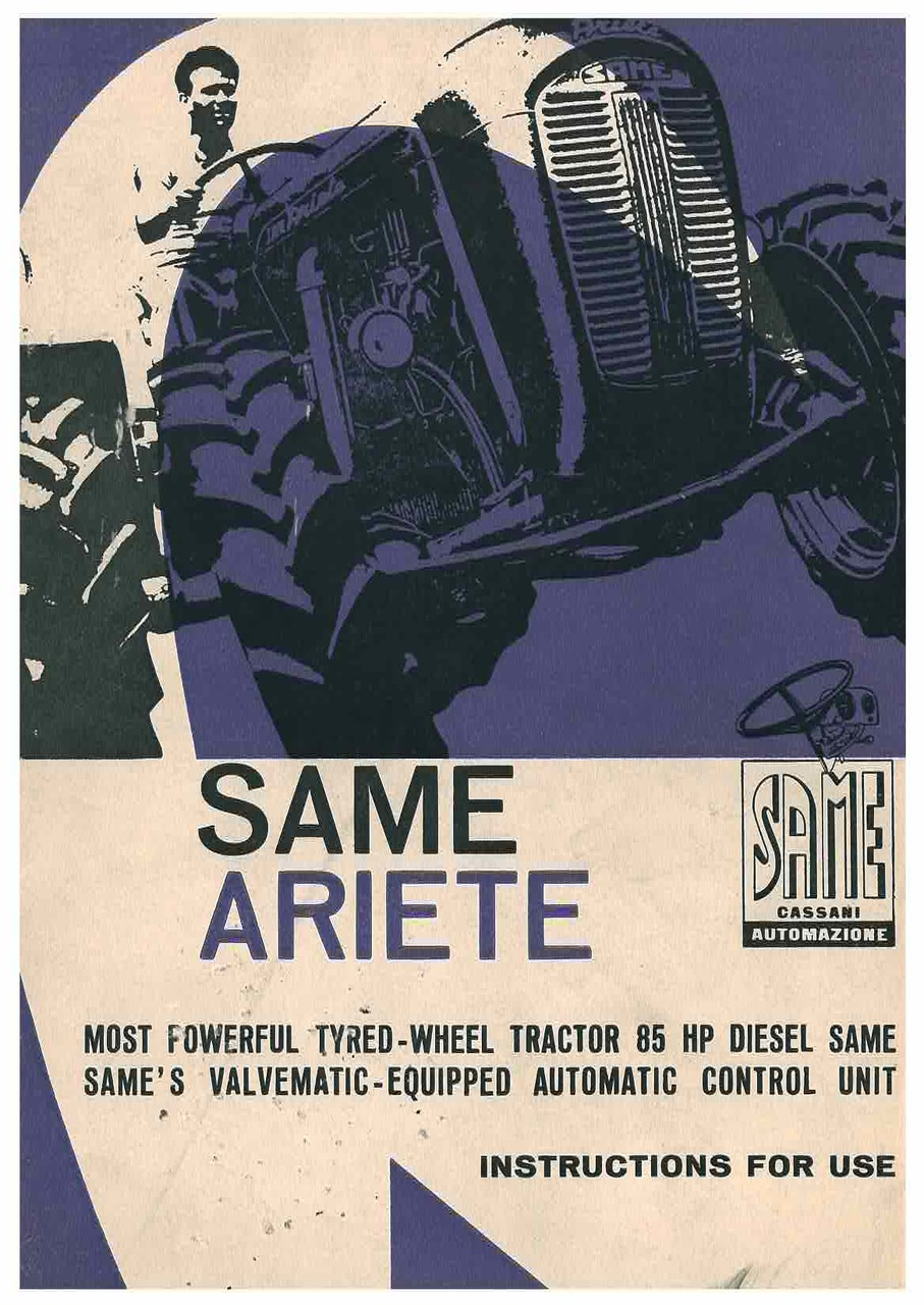 ARIETE - Operating and maintenance