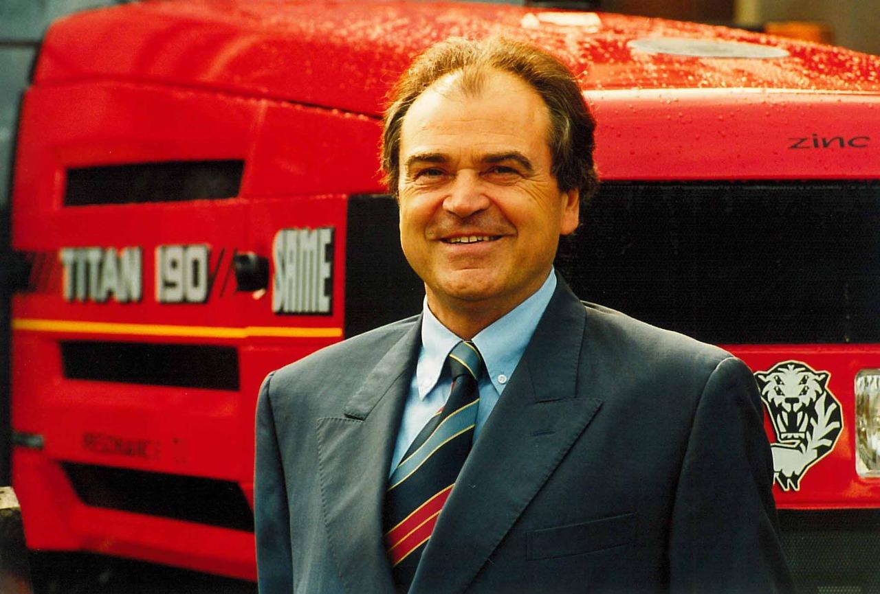 Sig. Ubaldo Ubaldi - Responsabile vendite SAME Italia per il Gruppo SAME Deutz-Fahr