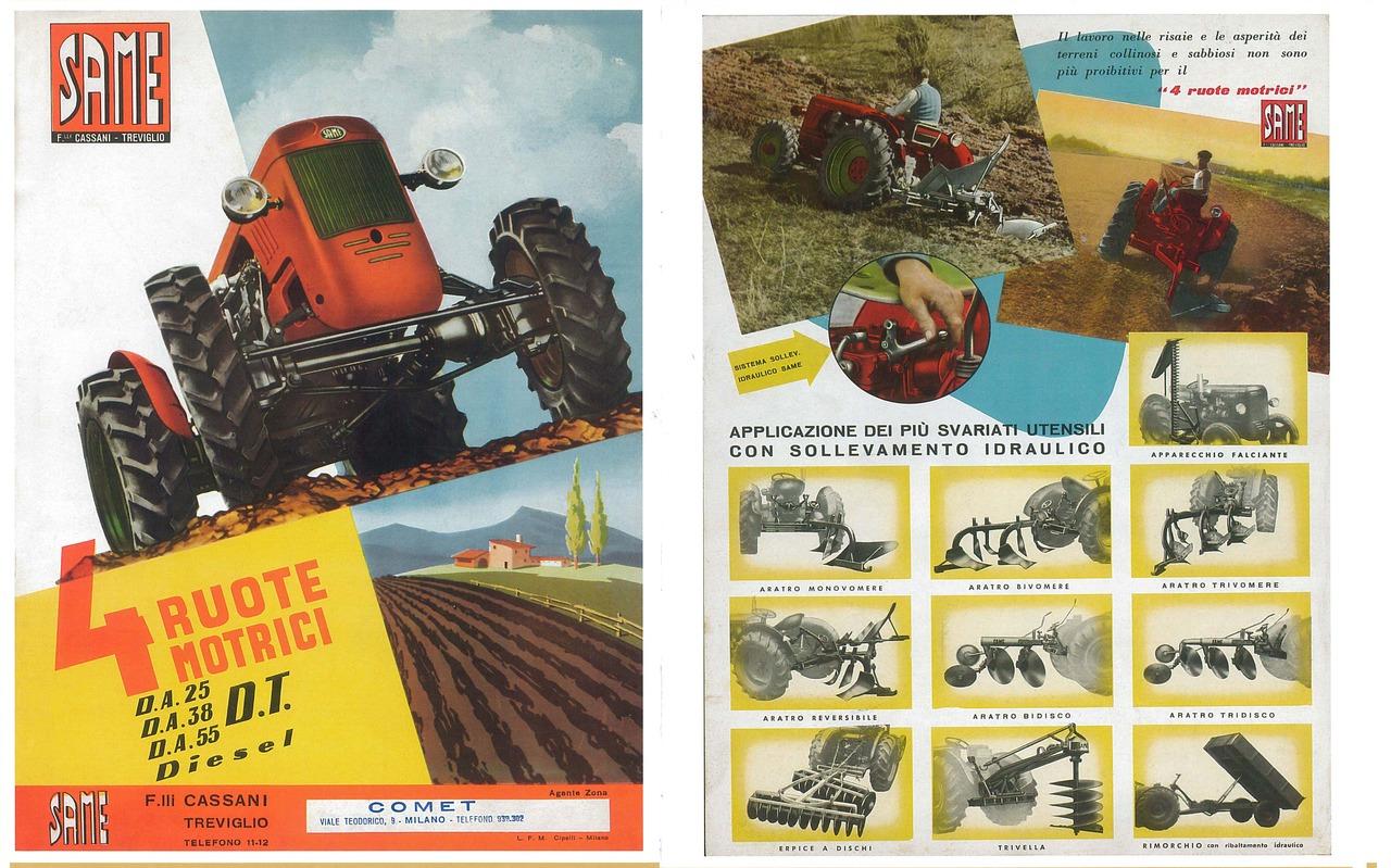 4 Ruote Motrici - DA 25-DA38-DA55 DT Diesel