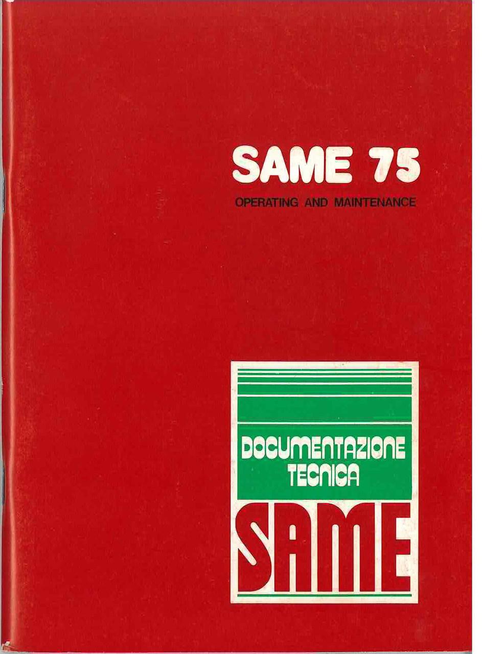 SAME 75 - Operating and maintenance