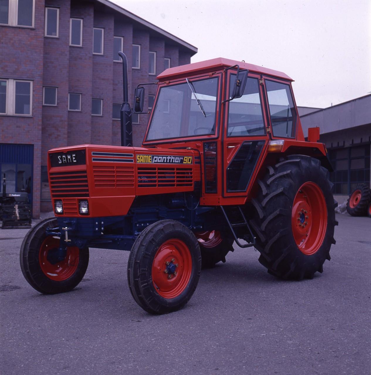 [SAME] trattore Panther 90 2RM presso lo stabilimento di Treviglio