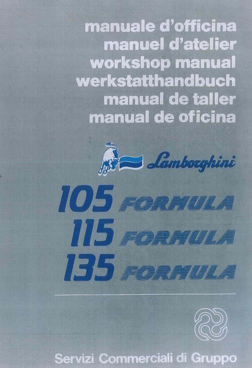 FORMULA 105 - 115 - 135 - Manual de Taller