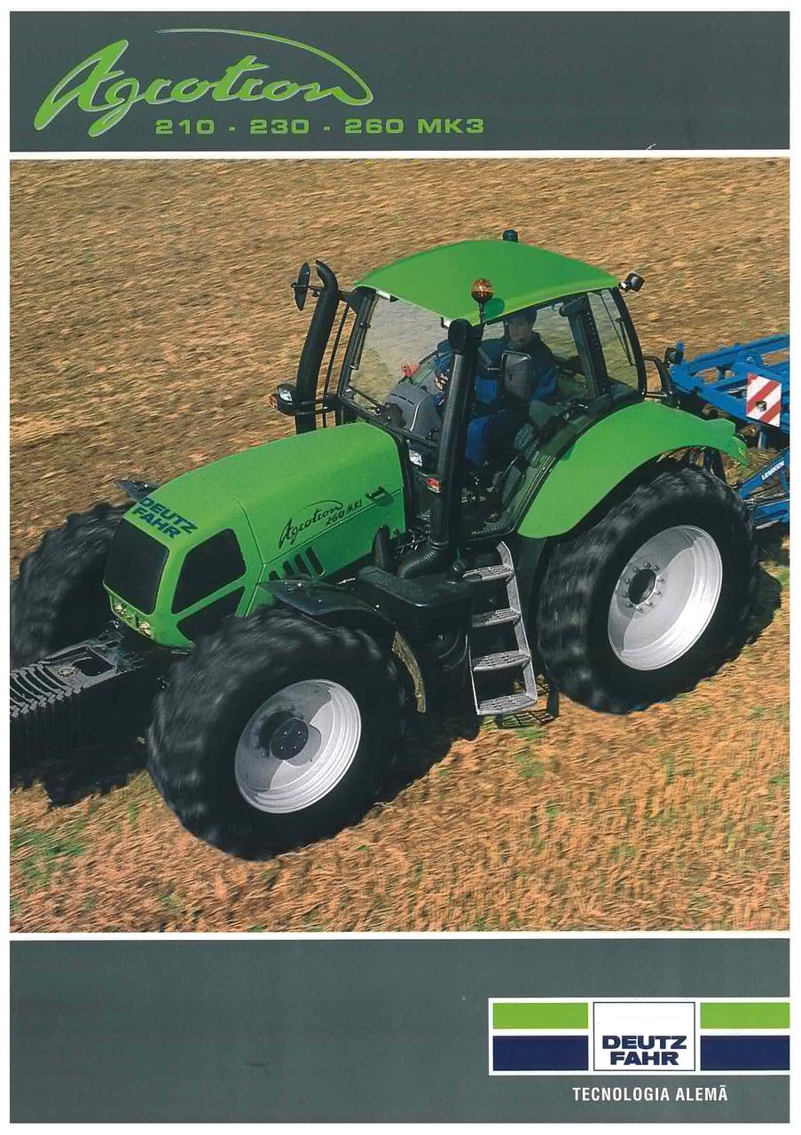 AGROTRON 210 - 230 - 260 MK 3