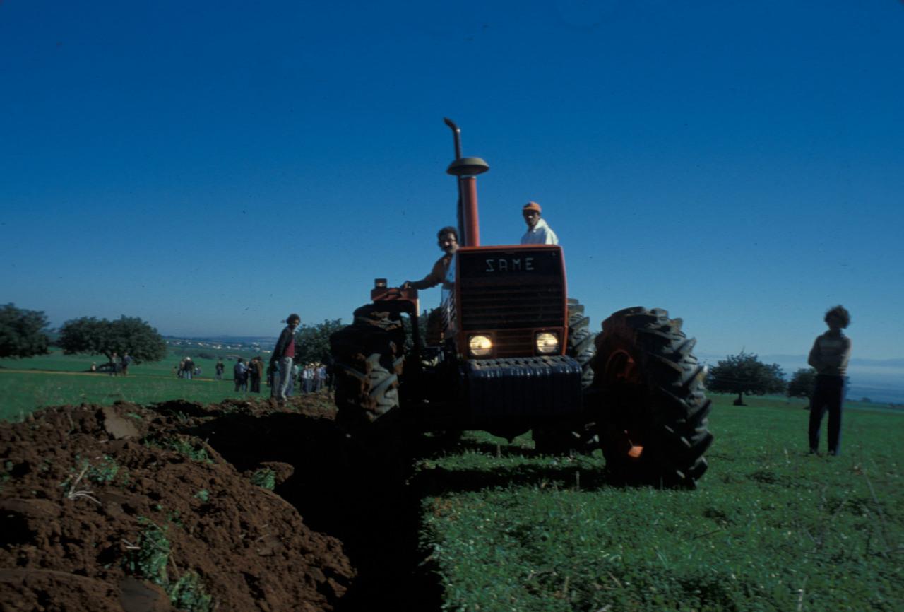[SAME] trattore Drago 120, prove in campo, Africa