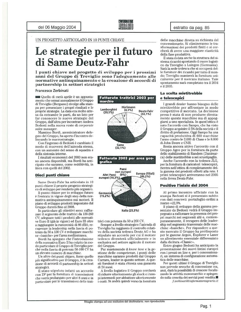 La strategia per il futuro