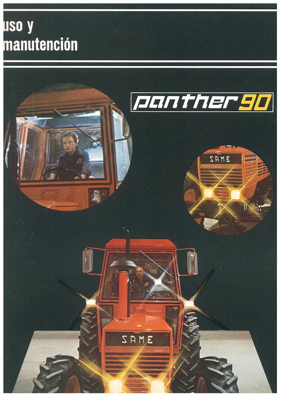 PANTHER 90 - Uso y manutencion