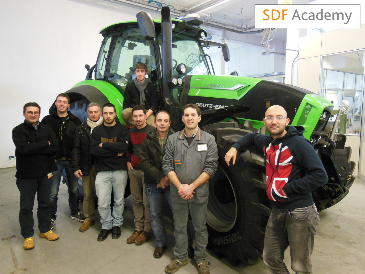 SDF Academy - Corso Deutz-Fahr 7210 AT TTV