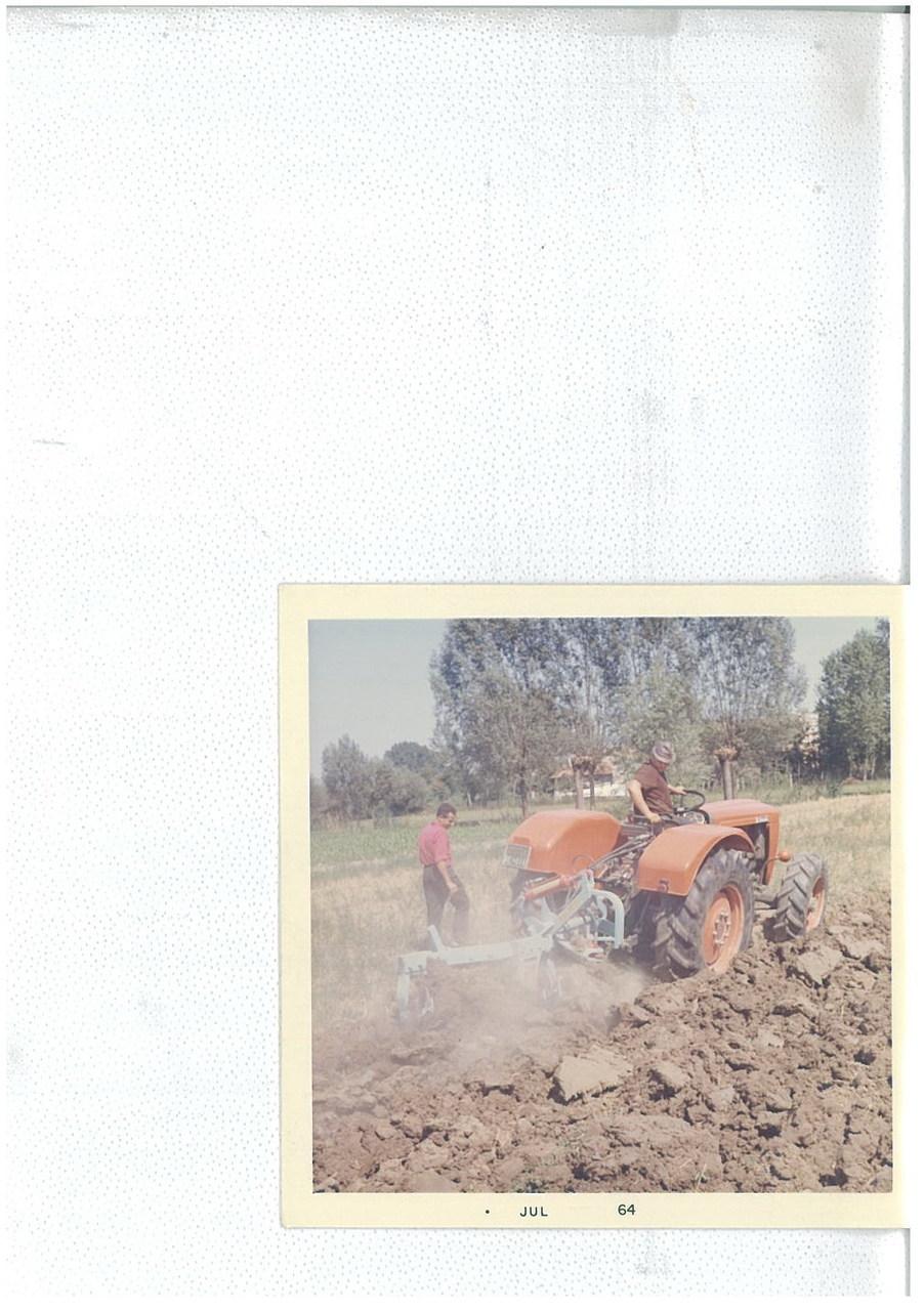 Trattore SAME Ariete 4RM con bivomere Maletti - Prove di aratura