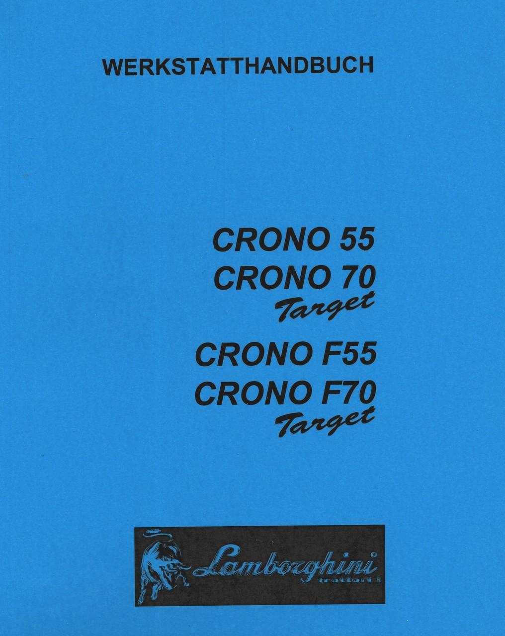 CRONO 55 TARGET - CRONO 70 TARGET - CRONO F 55 TARGET - CRONO F 70 TARGET - Werkstatthandbuch
