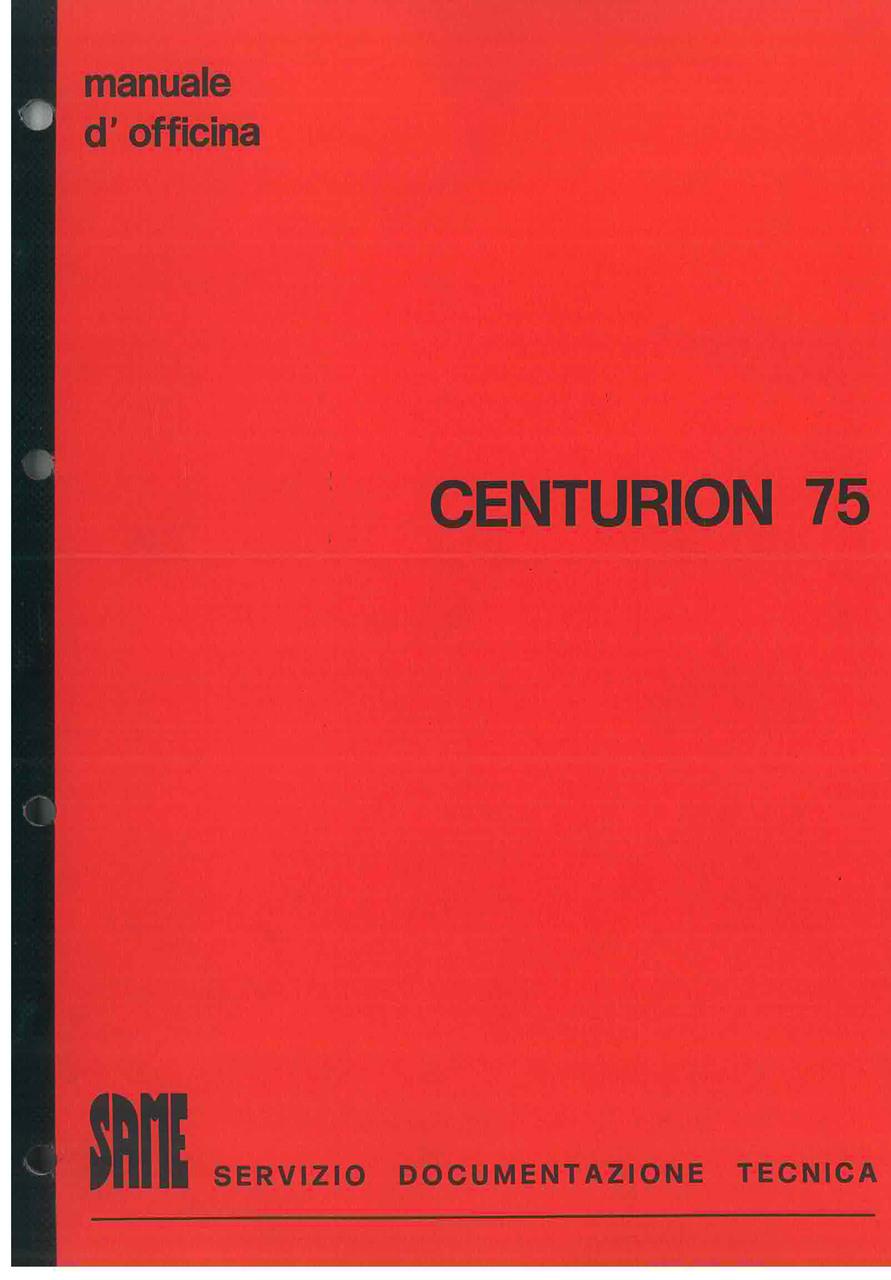 CENTURON 75 Manuale d'officina