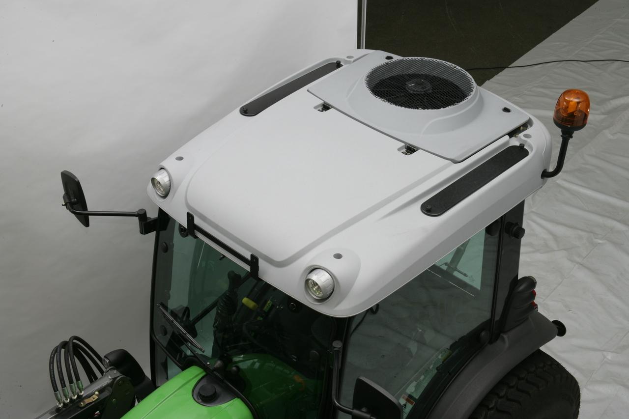 [Deutz-Fahr] trattore serie Agrokid: dettagli cabina