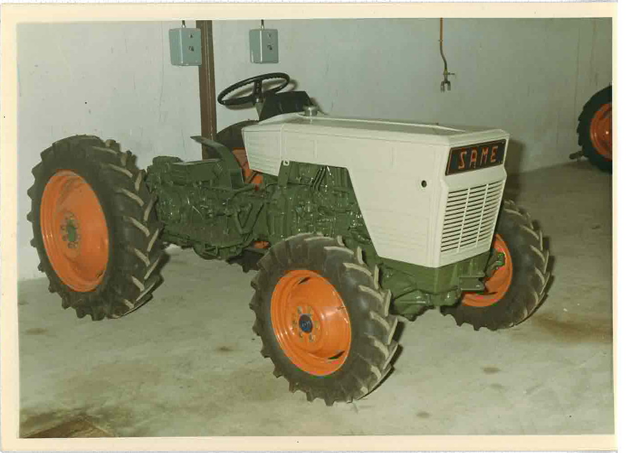 Nuovi colori carozzerie trattori Same
