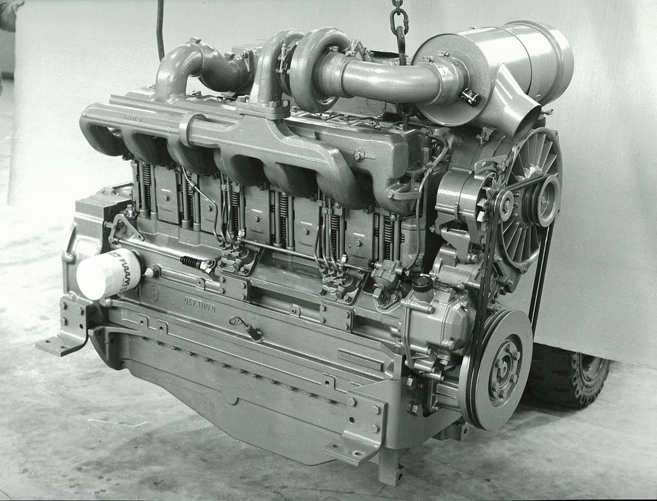 Motore SAME/ADIM serie PT per uso industriale - 6 cilindri