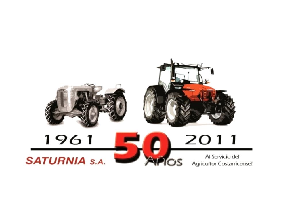 Saturnia SA. 50 años al servicio del agricultor costaricense!